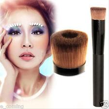 Haut Maquillage Pinceaux Poudre Base Liquide Concave Bois Brosse