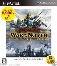 Used PS3 War  North Lord of the Rings SONY PLAYSTATION 3 JAPAN JAPANESE IMPORT