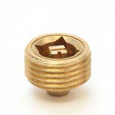 "Cast Iron Radiator - Steel Radiator - Bleed Valve Screw / Vent 1/2"" Brass"