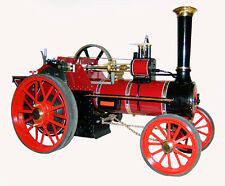"Traction Engine Steam Burrell 1"" Scale drawings set on CD"