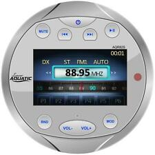 New AQR82S Waterproof Bluetooth Marine Gauge Style Digital Receiver USB Video In
