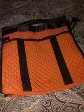 Bijoux Terner Travel-Weekender-Tote Orange  Black Trim    NWT