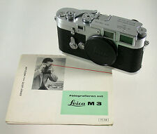 Leica M 3 m3 Body chassis analogico superclassic Rangefinder 1954 early presto 706318