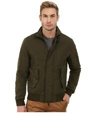 MSRP $395 Michael Kors Men's Army Green Water Resistant Bomber Jacket, US XL