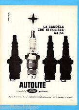 QUATTROR964-PUBBLICITA'/ADVERTISING-1964- FORD - CANDELA AUTOLITE