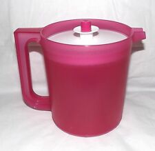 Tupperware Classic Pitcher 1 3/4 Quart Pink