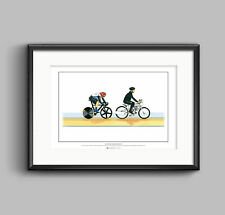 Sir Chris Hoy, Keirin, London 2012 Olympics ART POSTER A2 size