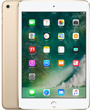 "New Apple iPad Mini 4 MK9Q2LL/A 128GB/Wi-Fi/7.9""/Retina- Gold [Latest Gen] World"