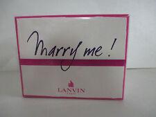 LANVIN MARRY  ME  EDP VAPORISATEUR   FEMME 80 ML  BLISTER NEUF