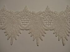"""Venise Lace in Mother of Pearl - 10 Yds for $34.99 - 4"""" Wide"""