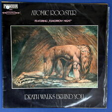 "Atomic Rooster Death Walks Behind You 12"" LP Israeli Press Different Cover 1970"