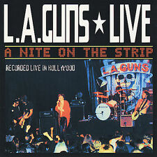 Live! A Night on the Strip L.A. GUNS CD ( FREE SHIPPING)