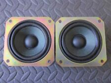 "(2) Panasonic 3.5"" Woofer Speakers.Full Range TV Shielded Pair.3-1/2"" 8ohm.3.5in"