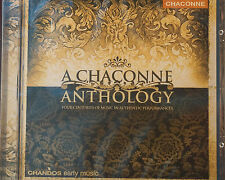 Superb Chaconne Anthology CD Mint Order New Chandos Sampler from 22 Releases