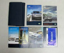 2007 Land Rover LR2 Owner's Manual Book Set + Wallet