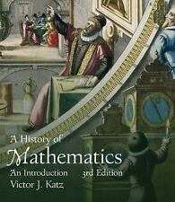 A HISTORY OF MATHEMATICS [9780321387004] - VICTOR J. KATZ (HARDCOVER) NEW