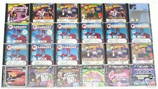 25 ROCK KARAOKE CDG CD LOT Clapton U2 Korn R.E.M Elvis WHOLESALE LIQUIDATION new