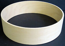 "Keller 10-Ply Maple 13"" x 3.5"" Snare/Piccolo Drum Shell, New & Unfinished"