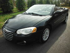 Chrysler : Sebring Convertible