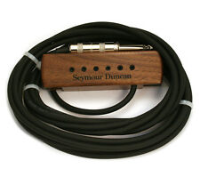 Seymour Duncan Woody XL Walnut Acoustic Sound Hole Guitar Pickup 11500-32-WLN