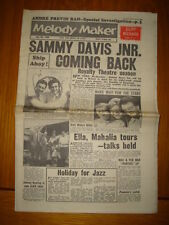 MELODY MAKER 1960 JUL 30 SAMMY DAVIS JNR CLIFF RICHARD