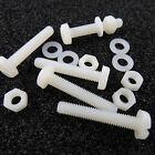 Kunststoff Schraube Mutter U-Scheibe Hülse Plastik Schrauben Plaste Polyamid PA