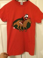 MARYLAND PREAKNESS T-SHIRT - NATTY BOH HORSERACING - MEN'S Sz SMALL -BRAND NEW