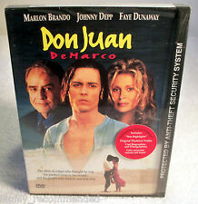 Don Juan de Marco (DVD, 1998) The Man Who Thought He Was The Greatest Lover!