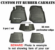 Audi A6 C5 1998-2004 Rubber Car Floor Mats All Weather Fully Tailored Fussmatten