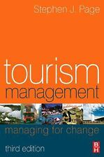 Tourism Management, Third Edition: An Introduction, Page, Stephen J., Good Book