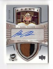HANNU TOIVONEN NHL 2005-06 THE CUP #/199 (JERSEY,AUTO,RC) BOSTON BRUINS,BLUES
