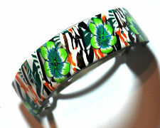 "New polymer clay hair clip 5 cm (2"") barrette ponytail holder by myfiori"