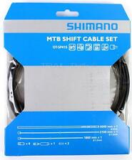 Shimano MTB Shift Cable/Derailleur Set Black Housing Stainless fit SRAM OT-SP41S