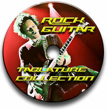 570x ROCK GUITAR TABS TABLATURE SONG BOOK LIBRARY SOFTWARE CD