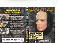 Star Trek:The Next Generation:TNG 16-1987/94-TV Series USA-3 Episodes-DVD