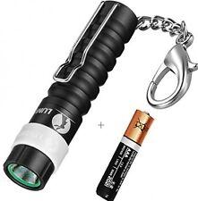 LUMINTOP Mini Worm AAA 110 Lumens Keychain Flashlight With Clip + 1X AAA Cree
