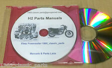 KAWASAKI H2 750 Triple Parts List CD H2A H2B H2C Tuning Carbs Wiring Diagrams