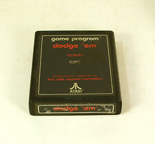 Vintage  Atari 2600 game Dodge 'em Text Label  Tested and Working