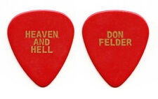 Eagles Don Felder Heaven and Hell Red Guitar Pick 2008 Tour