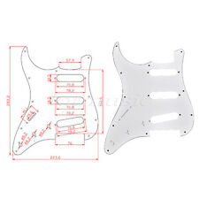 Left Handed Electric Guitar Pickguard For Fender Stratocaster Strat Parts SSS