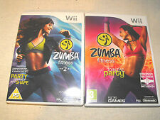 Zumba fitness 1 et 2 pour nintendo wii u game bundle complet