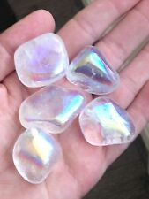 Opal Gura Quartz Tumble Stone