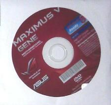 original asus Mainboard Treiber CD DVD Maximus V 5 Gene WIN 7 8 Windows driver