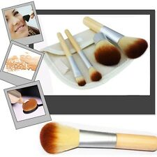 Eco Tools BAMBOO Maquillage Brush Set 4 Pcs Pinceaux Outils sourcils Pinceaux ED