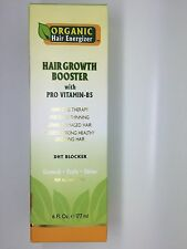 Organic Hair Energizer Hair Booster with Pro Vitamin-B5 6 oz