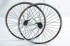 "PAIR 24"" JNR MTB BIKE WHEELS  507 x 19c  8/9 SPEED CASSETTE HUBS DUAL WALL RIMS"