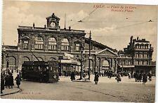 CPA Lille-Place de la Gare (188312)