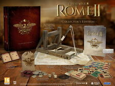 TOTAL WAR ROME II 2 COLLECTOR'S EDITION PC NUOVO DI ZECCA E SIGILLATO