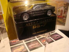 MATCHBOX WORLD CLASS ASTON MARTIN DB-7 REAL TIRES RARE 007 PLATE JAMES BOND