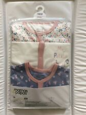 Mamas and papas baby grows bnwt 18-24 Months with Matching Bib current season